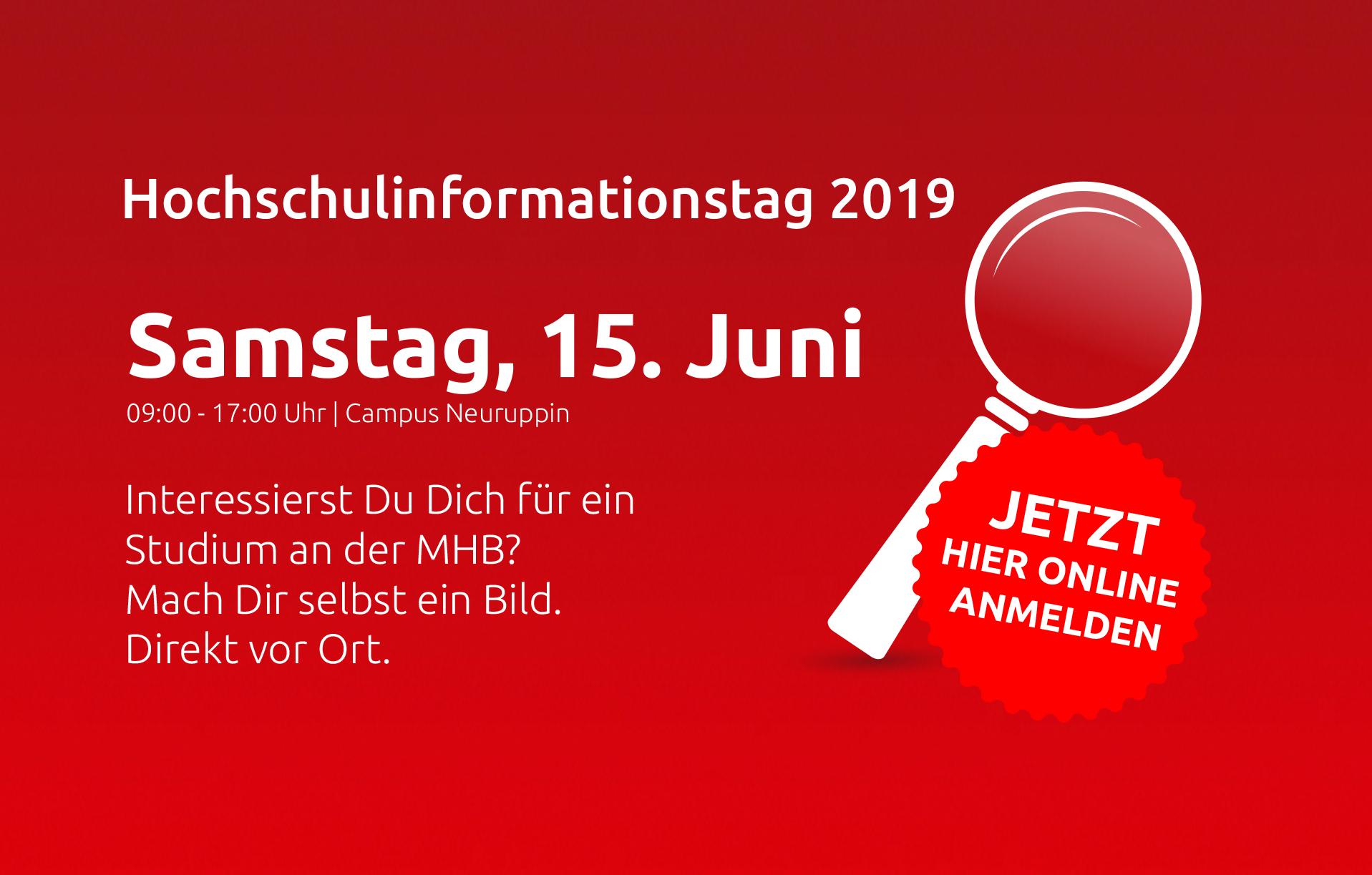 Hochschulinformationstag Hit Medizinische Hochschule Brandenburg